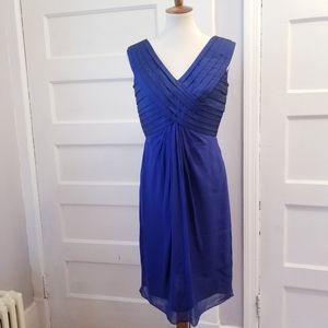 Adrianna Papell Silk Cocktail Dress, Size 10